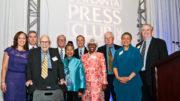 Atlanta Press Club Hall of Fame Inductees (Courtesy Atlanta Press Club)