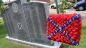 A Confederate memorial in Trenton, Ga. (Photo by Todd DeFeo)